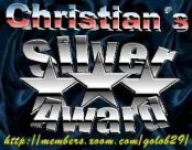 Christian's Award in Silber